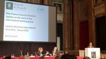 Ann Fenech re-elected to the Comité Maritime International (CMI) Executive Council